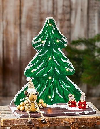 Vbs Deko Weihnachtsbaum Für 10er Lichterkette 38x325x18cm