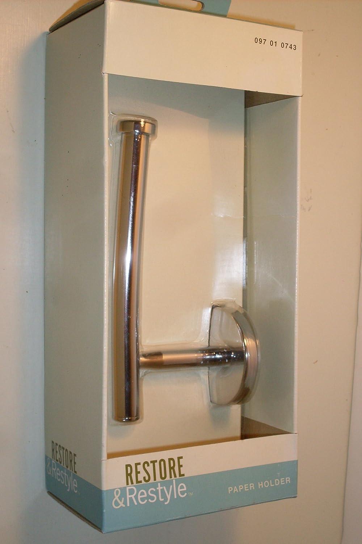 Toilet Tissue Holder...Chrome Plated Solid Brass