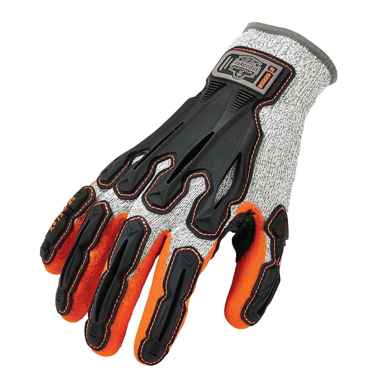 Nitrile and TPR Nitrile-Dipped DIR Cut Resistant Gloves Ergodyne 17093 Medium Gray Proflex 922CR 13 Gauge Polyethylene 1 x 1 x 1 English oz Plastic 15.34 fl