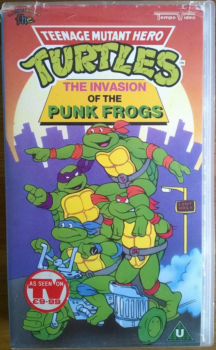 Teenage Mutant Ninja Turtles: The Series Reino Unido VHS ...