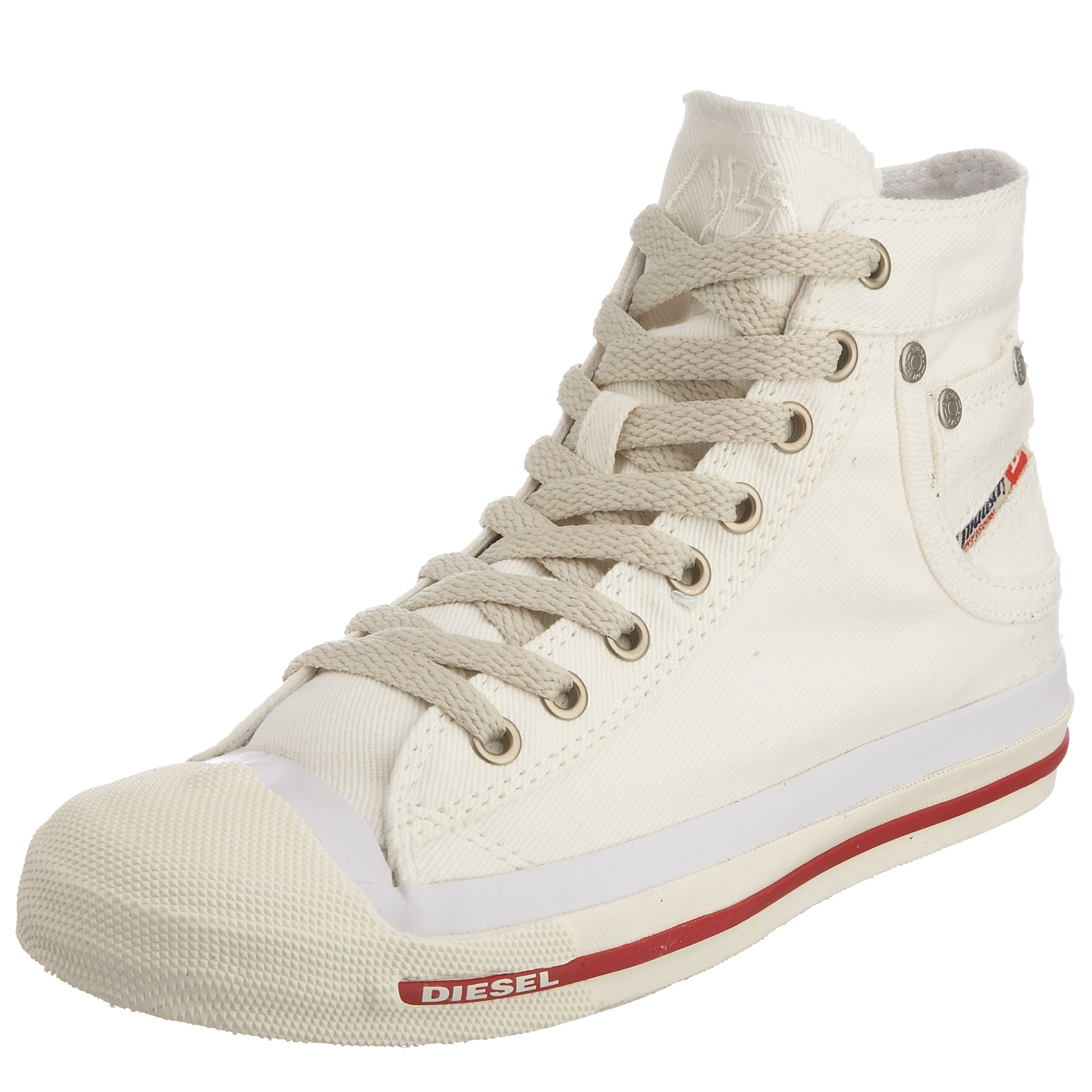 Diesel Magnete Exposure Mid, Women's Hi-Top Sneaker, White (T1002 T1002), 4 UK (37 EU)