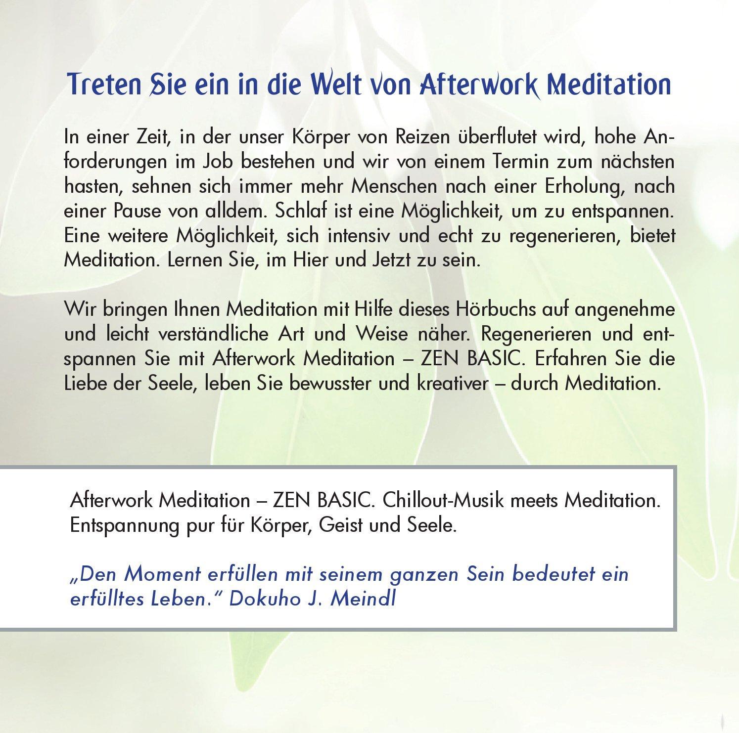 Zen Basic-Meditation für Zuhause & Unterwegs: 9783981450200: Amazon ...