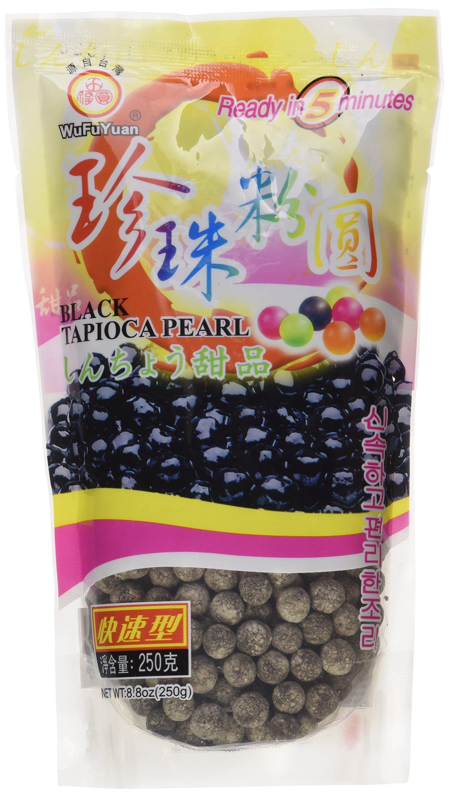 WuFuYuan - Tapioca Pearl (Black) - Net Wt. 8.8 Oz.