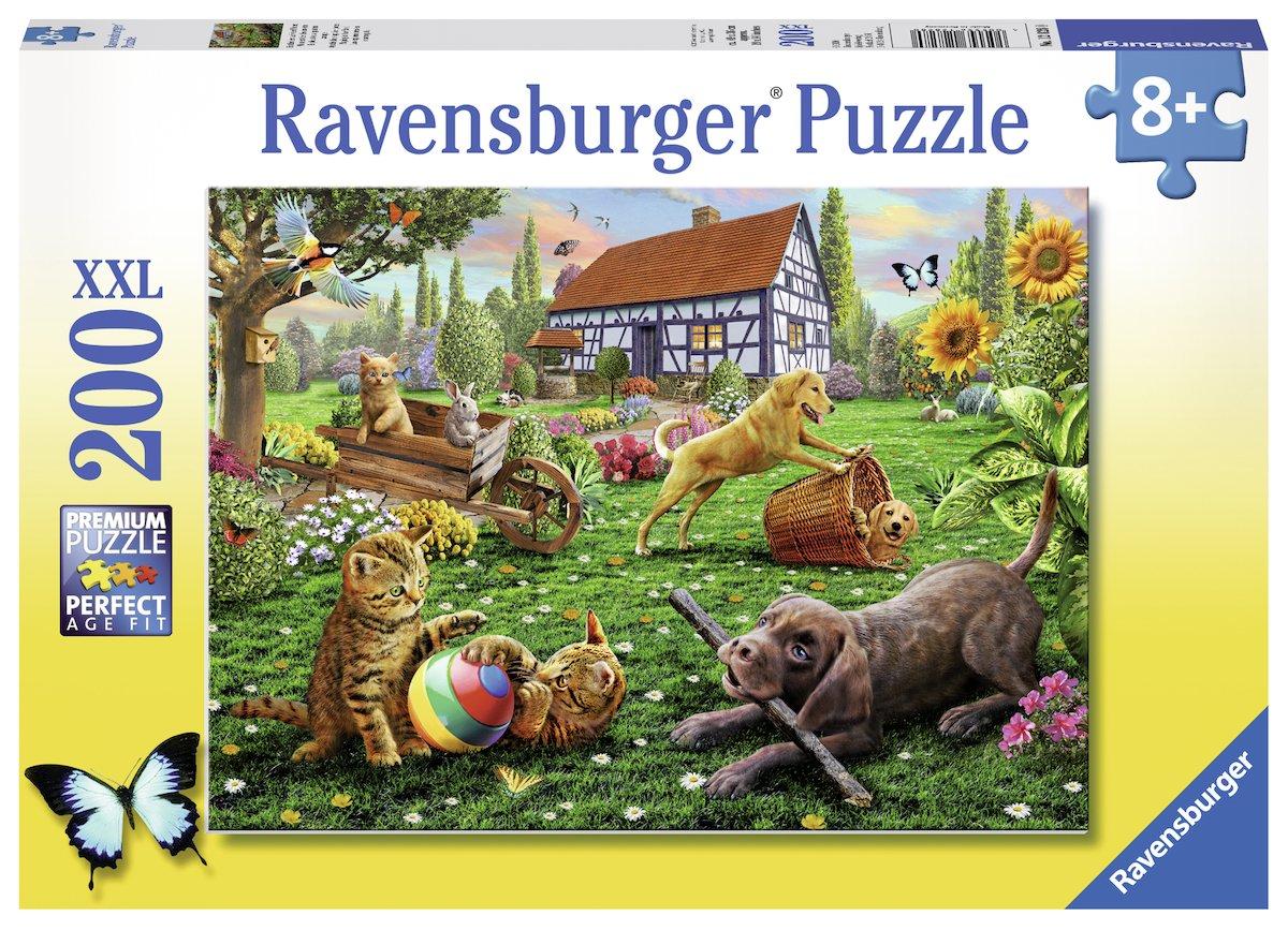 Ravensburger Puzzle Les Explorateurs sur Quatre Pattes 200 Pi/èces 128280