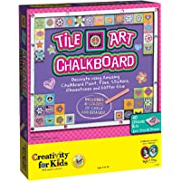 Creativity For Kids Tile art chalkboard - Pizarrón decorado con cerámica