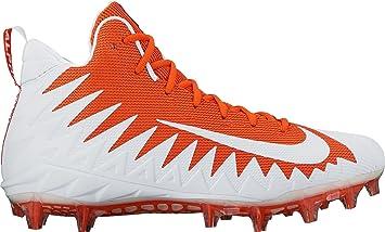 c37e78702b Nike pour Homme Alpha Menace Pro Mid Football Crampons, Homme, Orange/Blanc,