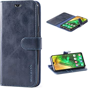 Mulbess Funda para Samsung Galaxy A50, Funda Cartera Samsung ...
