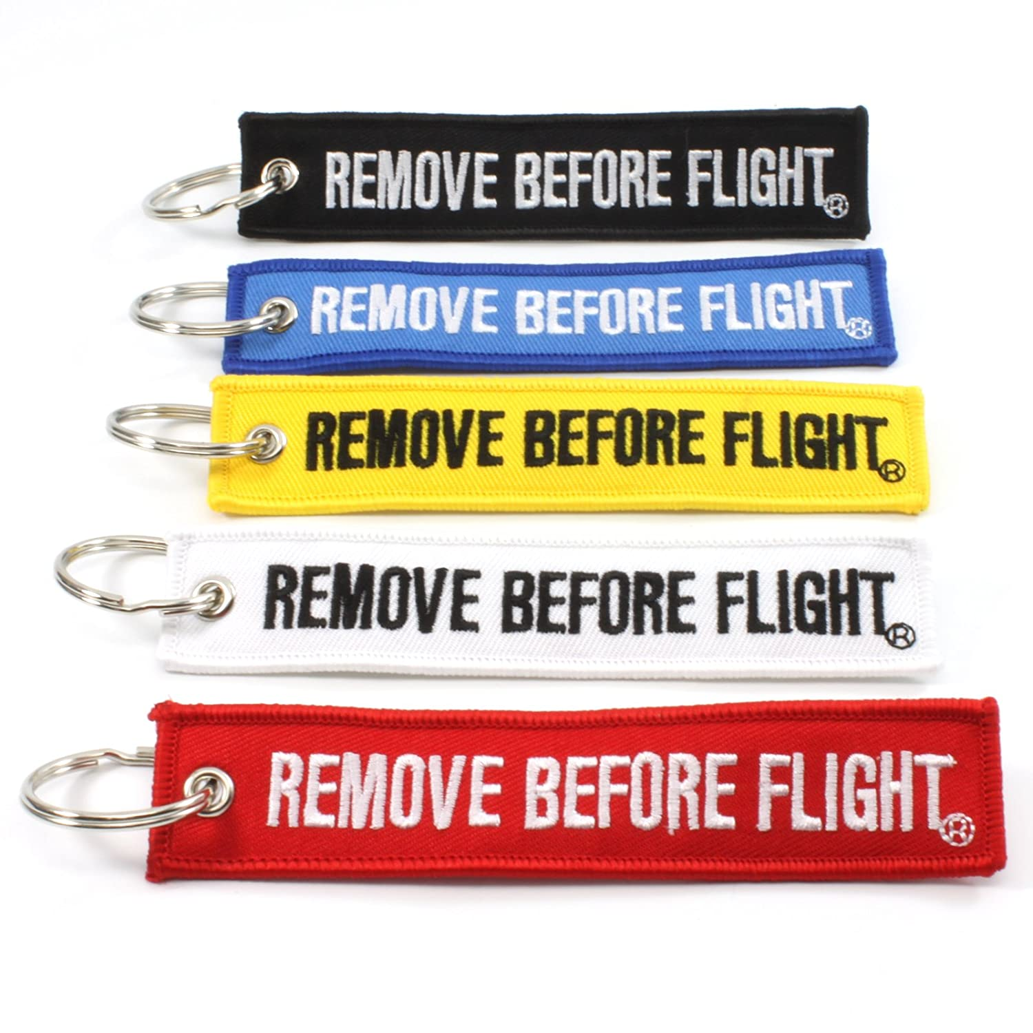 Rotary13B1 Remove Before Flight MULTI COLOR 5 Pack Key Chains 4347617089