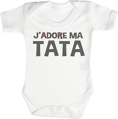 Jadore Mon Papi Body b/éb/é 100/% Coton TRS