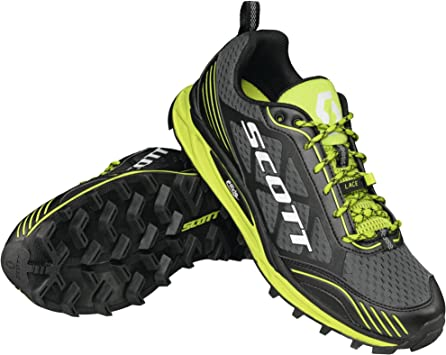 SCOTT ZAPATILLA TRAIL RUNNING KINABALU SUPERTRAC BLACK/GREEN ...