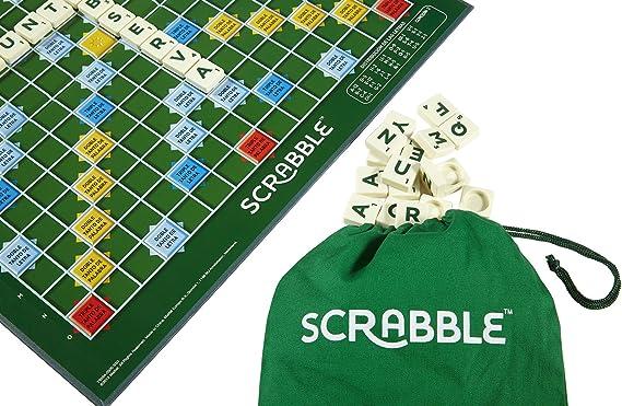 Mattel Games - Scrabble Original, Juego de mesa para adultos y para niños a partir de 10 años (Y9594) , color/modelo surtido: Amazon.es: Juguetes y juegos