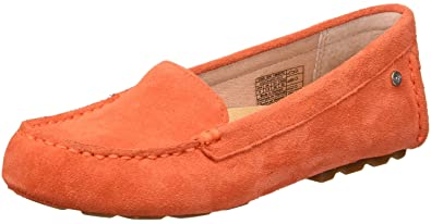 0602566223e UGG Women s Milana Loafer Flat red Orange 5 ...