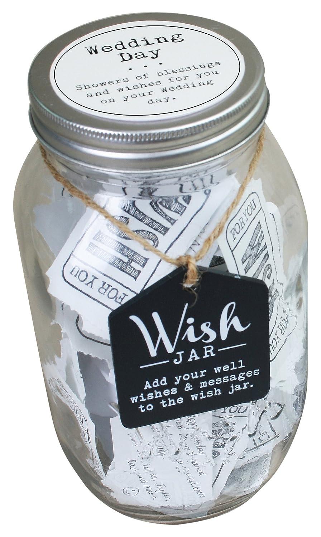 Top Shelf Wedding Wish Jar, Kit Comes with Tickets & Decorative Lid CKK Home Décor TS-WJ007