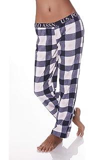 U.S. Polo Assn. Womens Super Soft Casual Lounge Sleepwear Long Pajama Pant eb005ca06
