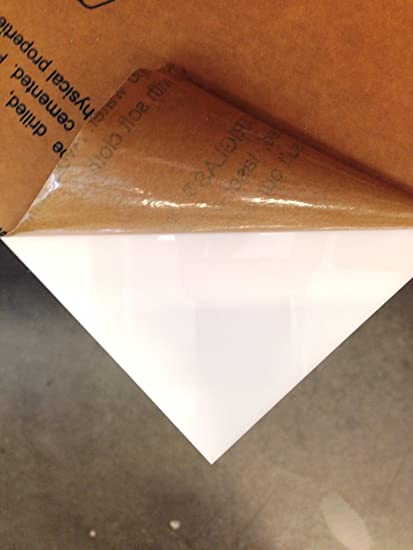 Amazon com: White Opaque Plexiglass Acrylic Sheet - 1/4