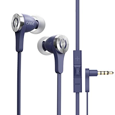 MuveAcoustics Drive Wired in-Ear Earbud Headphones