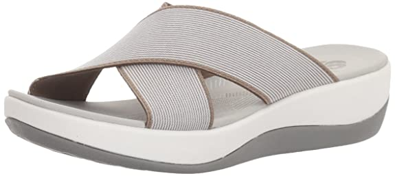 Clarks Women s Arla Elin Slide Sandal Fashion Sandals at amazon