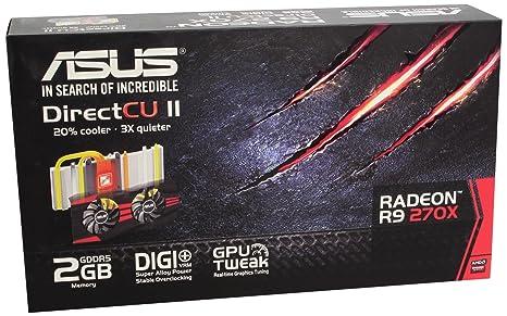 Asus R9270-DC2-2GD5 - Tarjeta gráfica de 2 GB con AMD Radeon ...