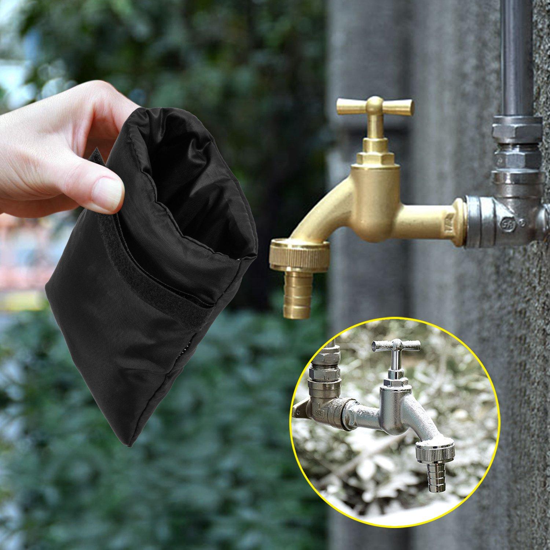 Amazon.com : SoulBay 2PCS Outdoor Faucet Covers for Winter Freeze ...