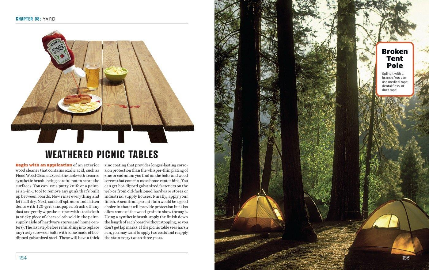 Popular Mechanics How To Fix Anything Essential Home Repairs Anyone - Popular mechanics picnic table