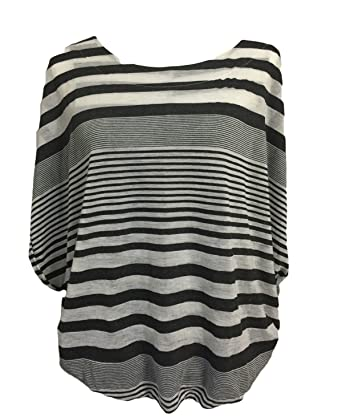 f6e835d40 Free People Striped Oversized Top Shirt Tank Tunic Pullover Size S P ...