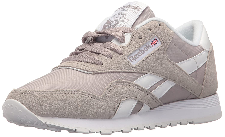Reebok Classic Sneaker B01GRMGQAC 6.5 D(M) US|Whisper Grey/White