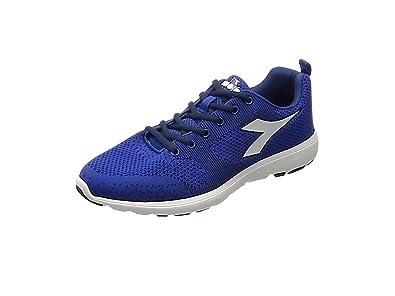 Diadora X Run Light, Chaussures de Running Compétition Homme, Noir (Nero/Bianco Ottico), 42 EU