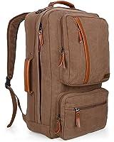 Witzman Canvas Rucksack Men Travel Backpacks Duffel Bag Hiking Backpack