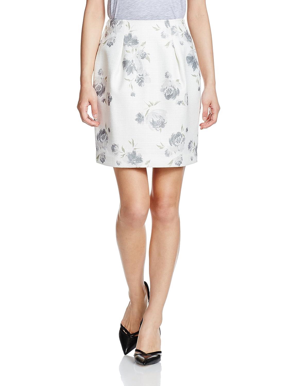Amazon | (マーキュリーデュオ)MERCURYDUO ロンドフラワーコクーンスカート | スカート 通販