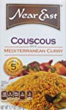 Near East, Couscous, Mediterranean Curry Flavor, 5.7oz Box (Pack of 6)