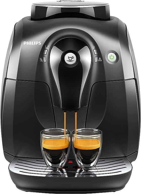 Philips Serie 2000 HD8650/01 - Cafetera Súper Automática, 1 ...