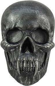 "DWK ""Nosferatu Vampire Skull Wall Sculpture | Vampire Decorations for Wall | Halloween Decorations | Horror Decor | Wall Art - 9"""