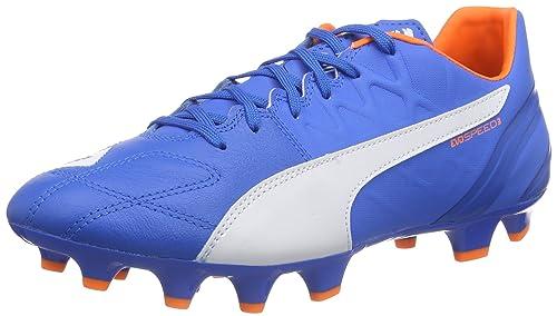 6c424bd371a481 PUMA Men s Evospeed 3.4 LTH FG Football Boots (Training) Blue Size  11 UK
