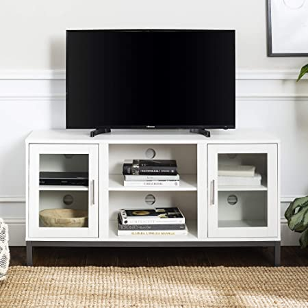 WE Furniture Modern Stand Cabinets for TV\'s up to 56\
