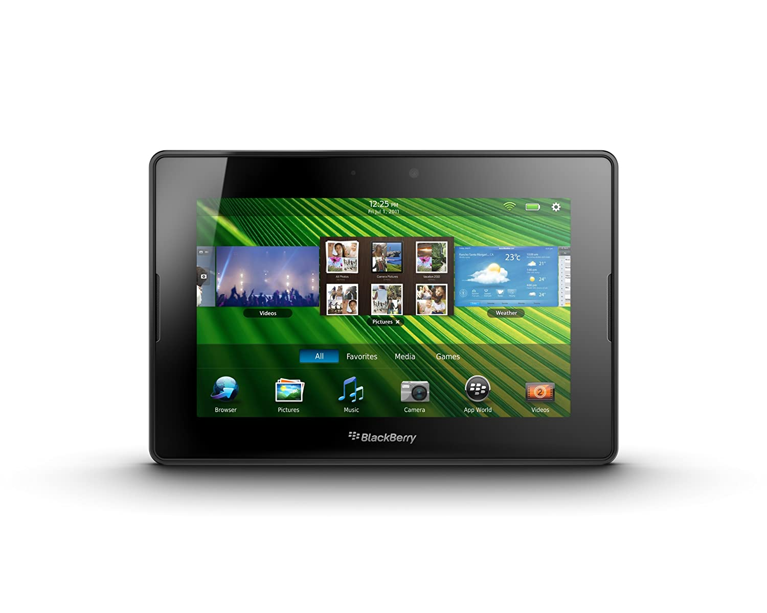 """Amazon.com : BlackBerry PlayBook 32GB 7"""" Multi-Touch Tablet PC with 1 GHz  Dual-Core Processor, 5MP Camera and Secondary 3MP Camera, Video, GPS, ..."""