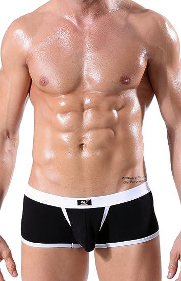 Größe S M L XL Herren XUBA Shorts Boxershorts Hipster Unterhose Rot Push Up
