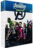Intégrale Marvel : Avengers + Iron Man + Iron Man 2 + L'incroyable Hulk + Thor + Captain America [Blu-ray]