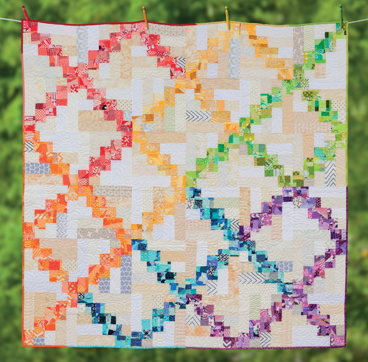 1ae8fcc7 Irish Chain Quilts: Contemporary Twists on a Classic Design: Melissa ...