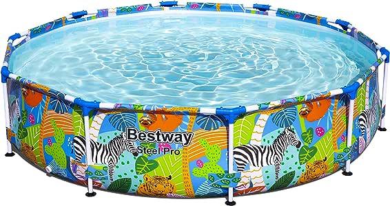 Bestway 56985 Piscina Desmontable Tubular Infantil Steel Pro 305x66 cm