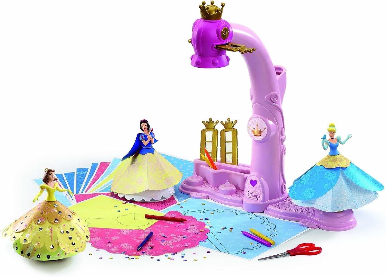 Disney 9438 Princesas Proyector 3D para diseñar Moda: Amazon.es ...
