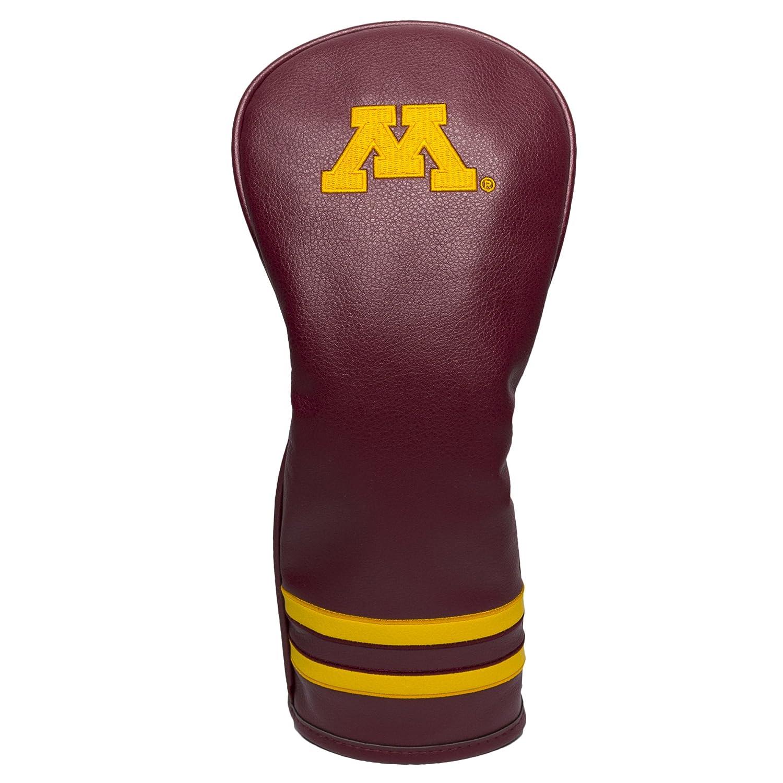 NCAAメンズヴィンテージフェアウェイウッド用ヘッドカバー B06XXD93PB One Size|チームカラー|Minnesota Golden Gophers チームカラー One Size