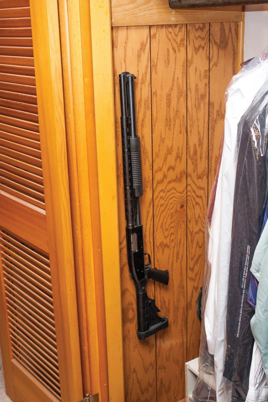 Safety Solutions for Gun Storage Pack of 12 Gun Magnet Concealed Rifle & Shotgun Magnetic Holder (12 Magnet Holders) by Safety Storage