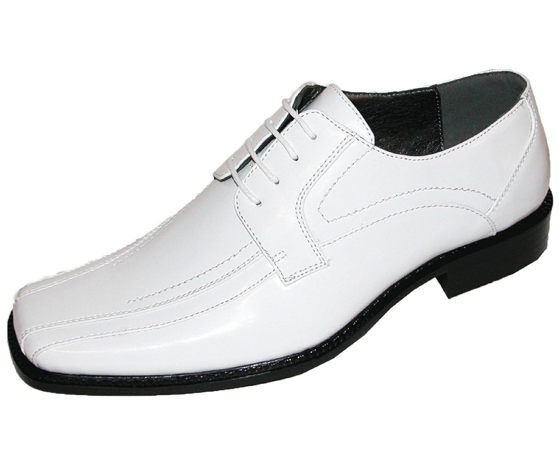 Mens white dress shoes