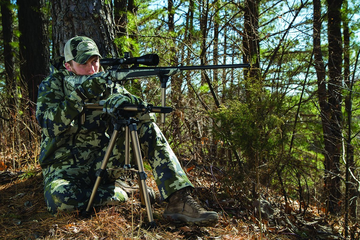 Caldwell DeadShot FieldPod Adjustable Ambidextrous Rifle Shooting Rest for Outdoor Range and Hunting by Caldwell (Image #6)
