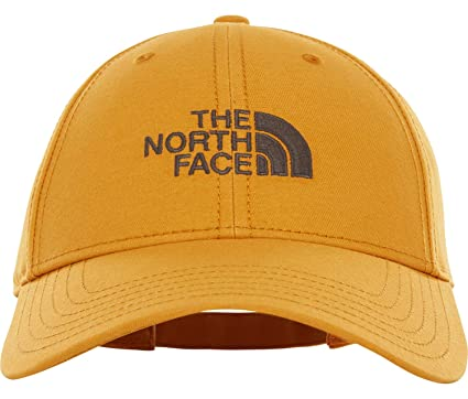 The North Face 66 Classic - Gorra, Hombre, Citrine Yellow/Asphalt Grey,