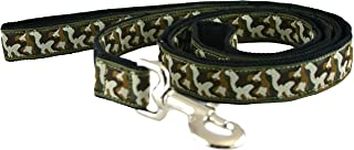 product image for Zany Canvas Leash - Standard (3/4 Inch, Camo Dog)