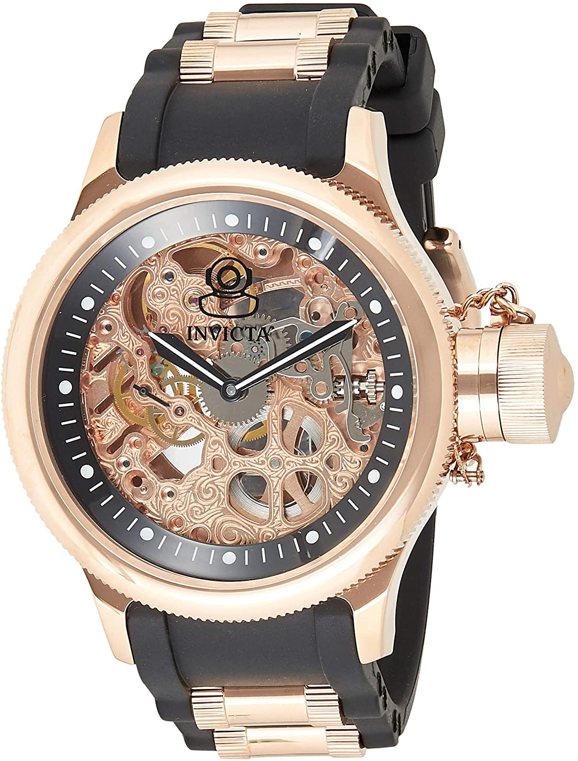 Invicta 1090 Men's Rose Gold Stainless Steel Watch - Sears Marketplace