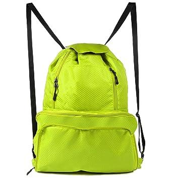 Amazon.com: Chnano, bolsa de cordones, mochila plegable de ...