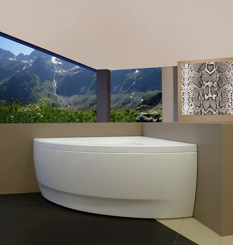 Aquatica Olivia-Wht Small Corner Acrylic Bathtub - - Amazon.com