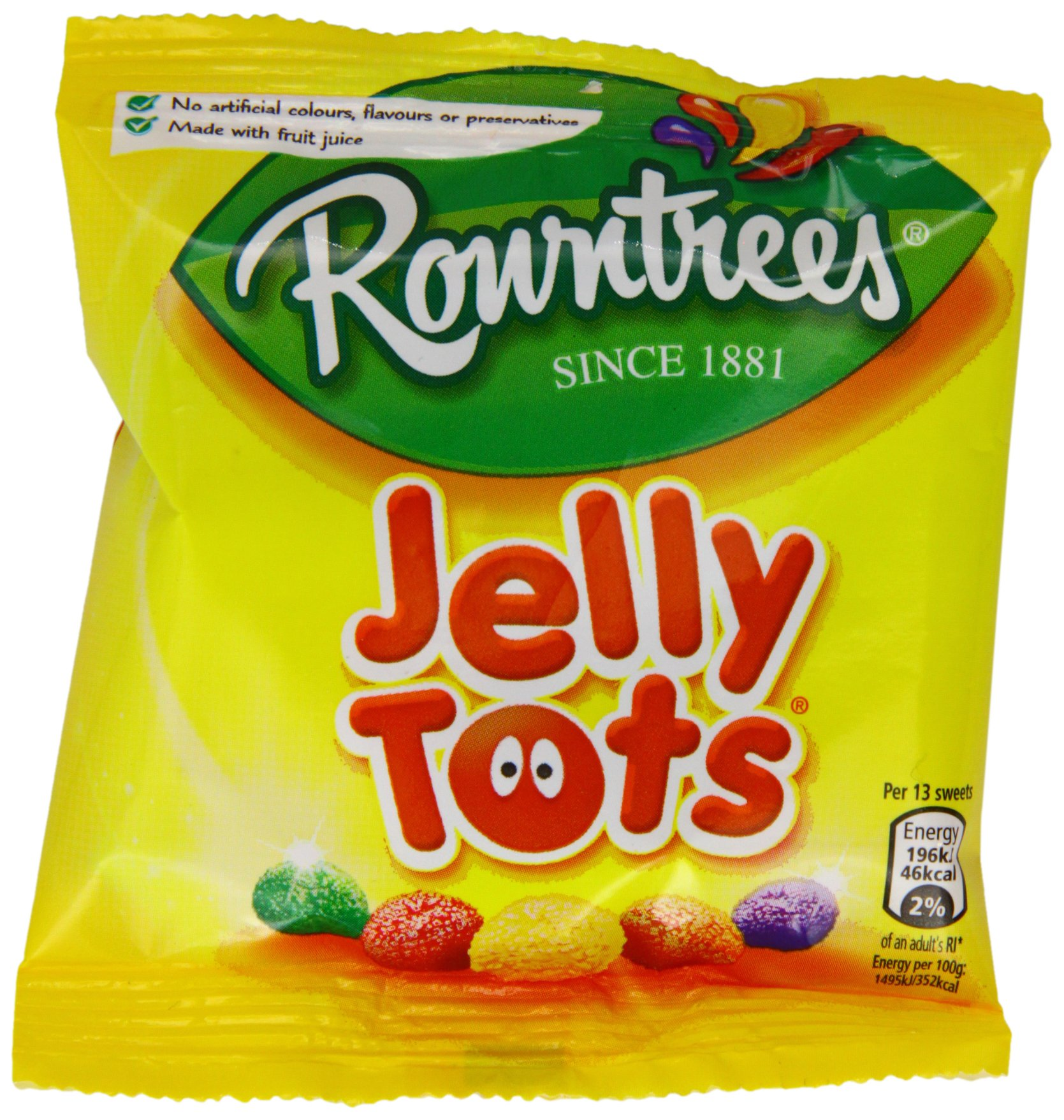 Rowntrees Jelly Tots Case of 36 by Rowntree's